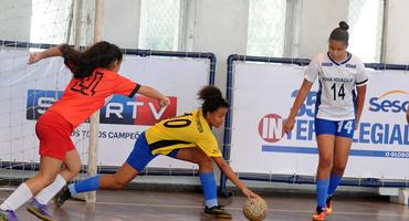 Rodada do futsal aponta os vencedores das disputas pelas medalhas de bronze