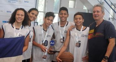 SMCE, Sistema Elite e GEO Félix ficam em terceiro lugar no basquete 3x3