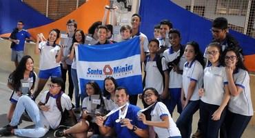 Santa Mônica Centro Educacional sedia o xadrez pelo terceiro ano consecutivo e esbanja estrutura