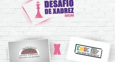 Sequência do Desafio Online de Xadrez terá mais um confronto nesta segunda-feira (29/6)