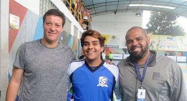 Sesi Maracanã vence na estreia do futsal em sua primeira participação no Intercolegial