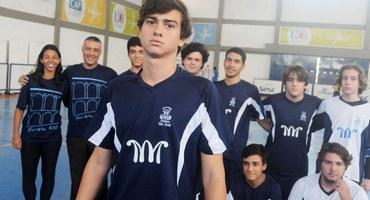Talentoso e boa pinta, Daniel marca quatro gols na vitória do Marista São José, da Tijuca