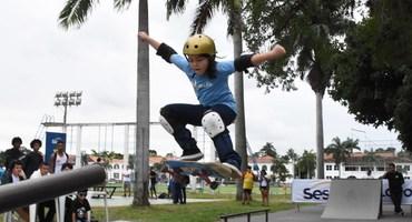 Terceira edição do skate do será disputada durante a programação do segundo Festival Intercolegial Sesc O GLOBO