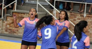 Tijuca domina os primeiros confrontos da categoria sub-18 não federada pela segunda rodada do vôlei
