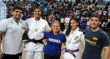 Unidas pelo judô, Beatriz e Luana são de escolas diferentes e juntas vão representar o Brasil no Mundial Sub-18, no Cazaquistão