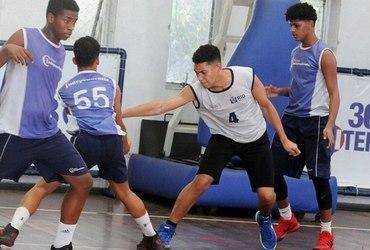 Bruno deixa comportamento rebelde de lado e se firma como no basquete do GEO Félix