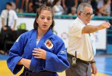 Companheira de Rafaela Silva, Eduarda Claro quer repetir os passos da campeã olímpica, na Rio 2016