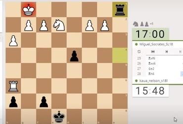 Escola Municipal Olímpica Doutor Sócrates é campeã do Desafio Online de Xadrez