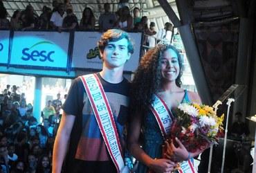 Momento de pura magia: Nathália e Daniel são eleitos os musos de 2018