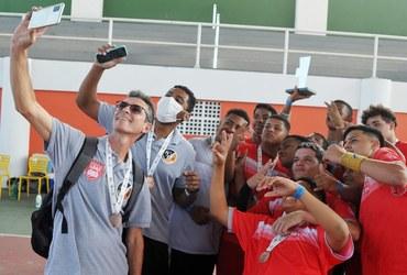 Presente desde a segunda edição no handebol do Inter, Colégio Estadual Antônio da Silva fatura o bronze sub-16 masculino