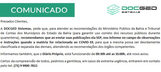 AÇÕES / COVID-19