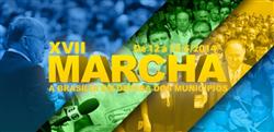 CNM PROMOVE XVII MARCHA A BRASÍLIA EM DEFESA DOS MUNICÍPIOS DE 12 A 15 DE MAIO