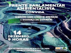 Seminário Código Mineração e Segurança Barragens de Rejeitos