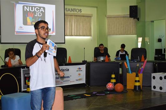 O NUCA - João Dourado promove Seminário do Esporte Seguro e Inclusivo.