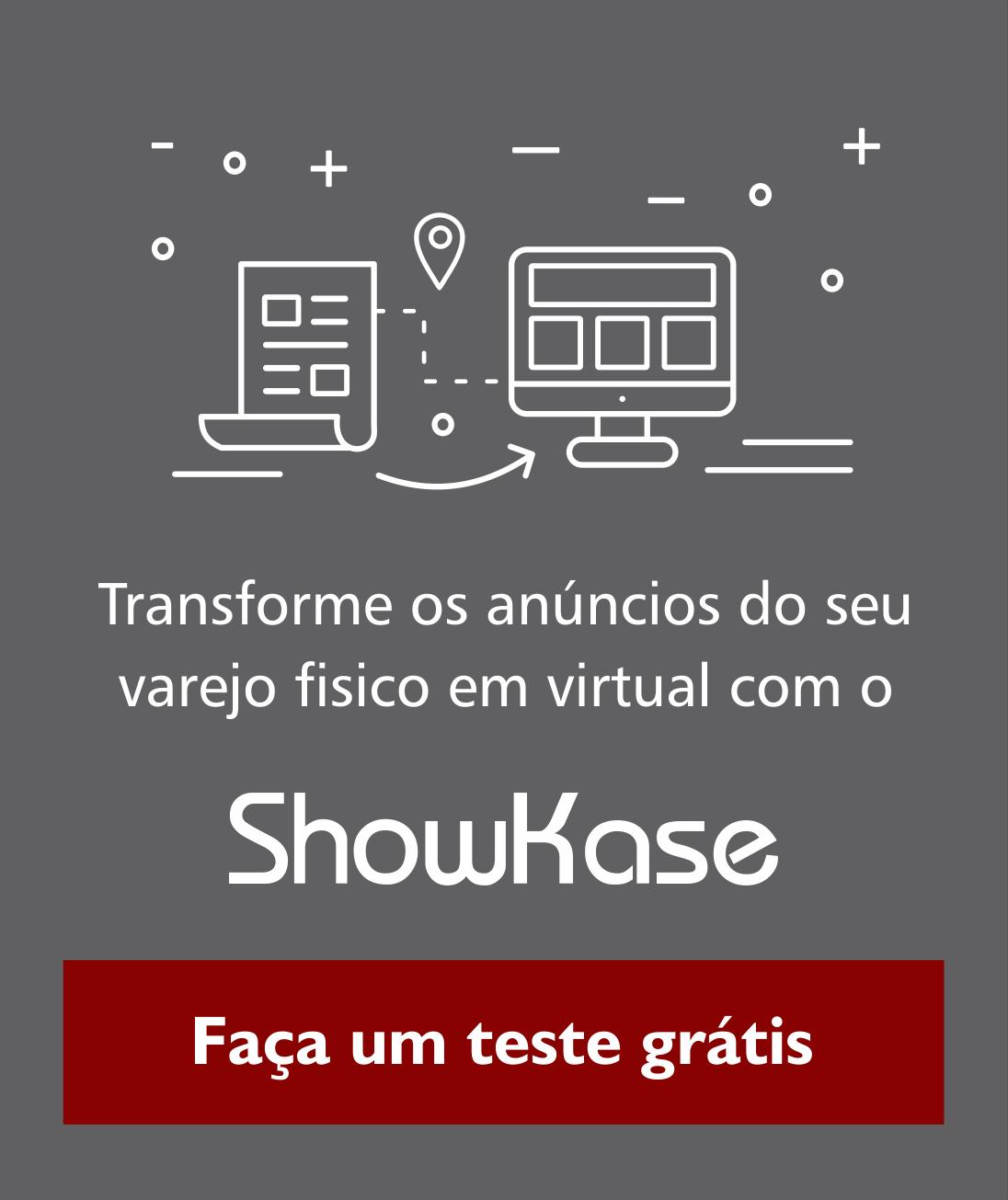 Teste gratuito do Showkase