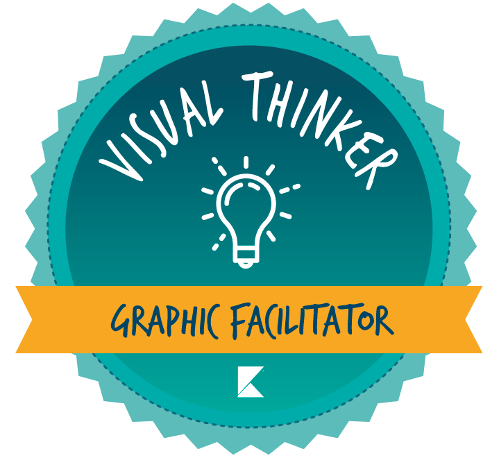 Un taller de la serie Visual Thinker de Kleer - Graphic Facilitator