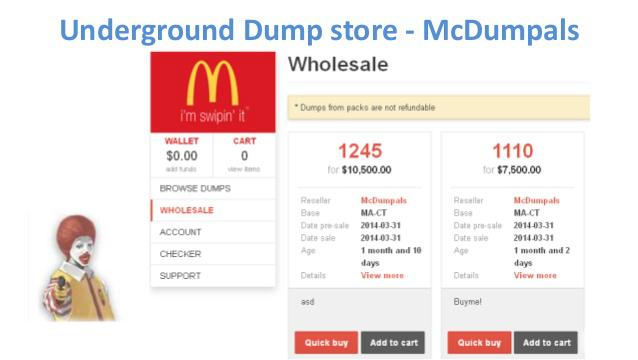 Fraudadores fazem paródia com McDonald's em fórum nos EUA