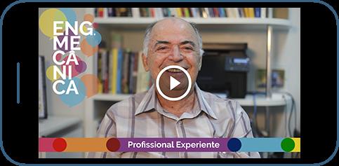 Interface de aplicativo da Kuau com vídeo sobre profissões