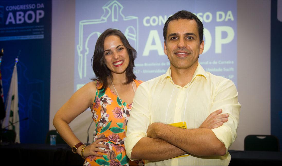 Erica Canal e Gilber Machado no ABOP