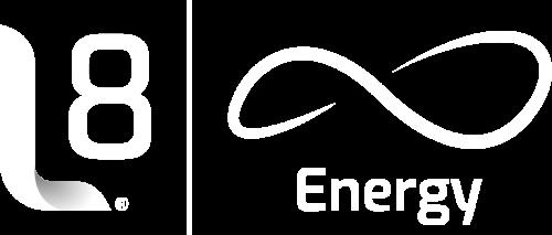 L8 Energy – Painéis Solares e Geradores de Energia Logo