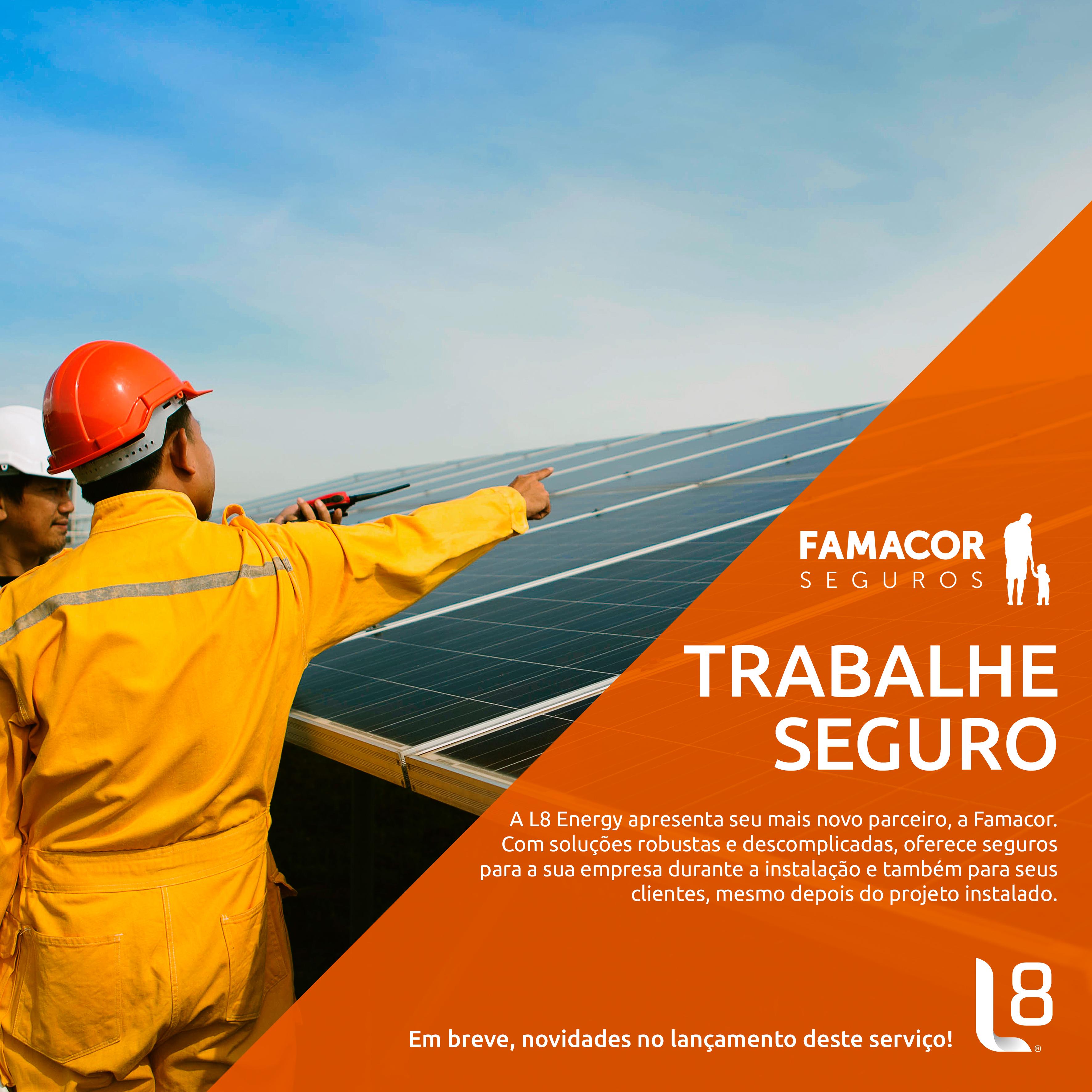 L8 Energy firma parceria com a Famacor