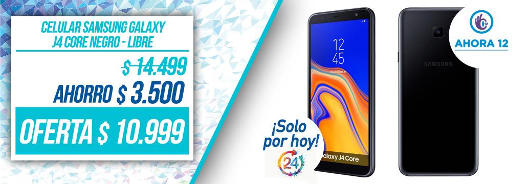 Celular Samsung Galaxy J4 Core Negro - Libre
