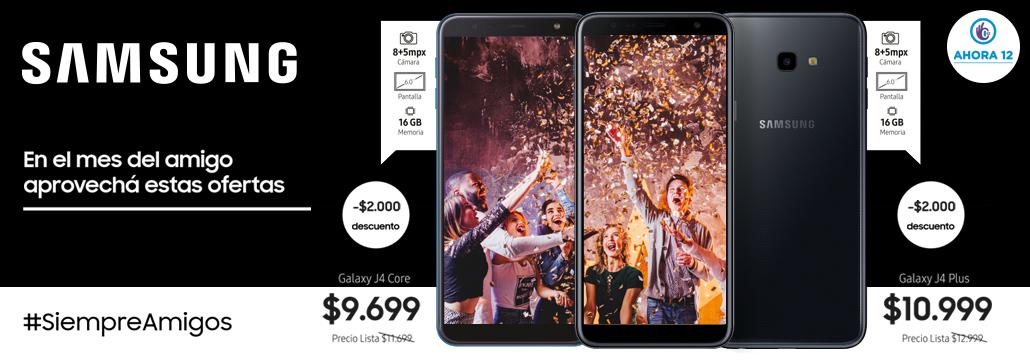 Celulares Samsung - Amigos