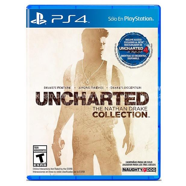 Juego Ps4 Uncharted Collection La Anonima Online