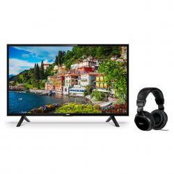 "8407d50c4a9 Combo Tv Led RCA 40"" Full HD Smart X40SM + Auriculares RCA Negros HP350AR"