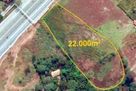 Excelente terreno na linha verde  Terreno urbano, com frente para a rodovia MG-010 sentido Belo Horizonte -Confins Terreno com área de aproximadamente 22.704  m²    Atualizado em 23/07/2017.