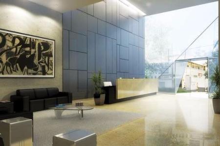 Prédio comercial de alto padrão, revestido em vidro espelhado, moderno sistema de segurança, salão de convenções com foyer, salas com shaft para instalações, 04 elevadores com chamada inteligente, estacionamento privativo e rotativo. Sala: Piso concreto nível zero. 01 Banheiro já com acabamento pronto.  Área interna com aproximadamente 40,54 m² Vagas de garagem comercializadas separadas: Vagas simples: R$ 50.000,00 Vagas duplas: R$ 80.000,00    Atualizado em 19/07/2018.