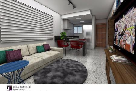 Entrega prevista para Outubro 2019  Prédio: Arquitetura contemporânea, moderno sistema de segurança, hall social, 01 elevador. 04 vagas de garagem demarcadas.   Loja: Área de aproximadamente 173,50 m². 01 banho.    Atualizado em 21/11/2018.