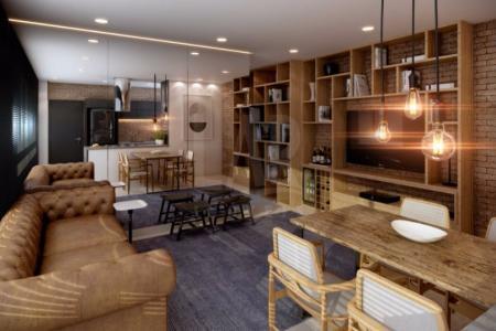 Apartamentos de 2 quartos e loft