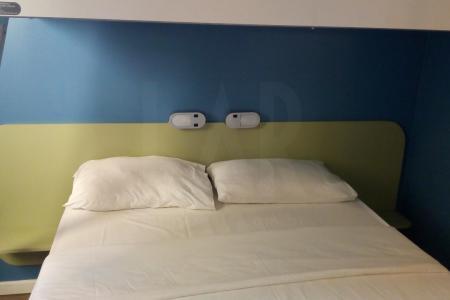 Flat localizado no Ibis Budjet Afonso Pena, na melhor localização de Belo Horizonte, oferece conforto e bem estar,    Apartamento: quarto em cerâmica, com camas e banheiro em cerâmica.    Atualizado em 03/10/2018.