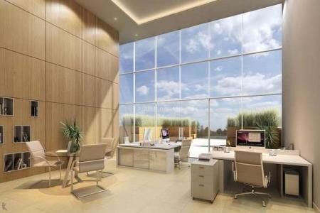 Localização privilegiada  Arquitetura contemporânea, mix de lojas e salas, 4 elevadores, fitness, sauna, Spa, piscina, espaço gourmet, terraço coworking, salas de reuniões, estacionamento.  Variadas opções de metragens. Consulte-nos !
