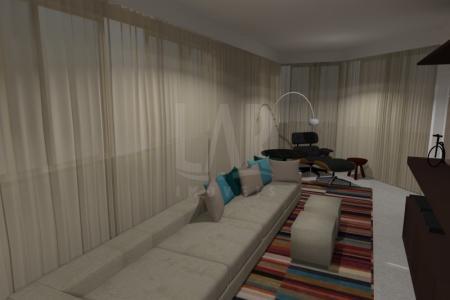 Granito em todo apartamento, quartos laminados, spa, piscina, espaço gourmet, adega, som.