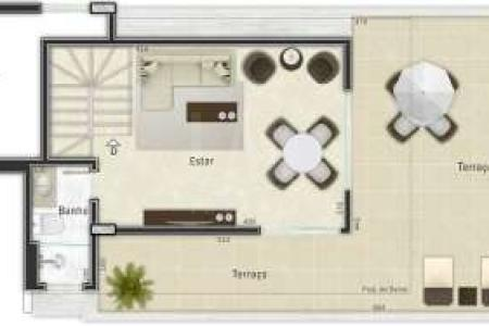 PRÉDIO: revestido em cerâmica, 03 pavimentos, portaria eletrônica, interfone, hall, 02 vagas de garagem. APTO: sala, piso em porcelanato. 03 quartos, piso em laminado. Banho social azulejado. Cozinha azulejada, bancada em granito. Área de serviço. Escada em alvenaria. 2º PISO: sala, piso em porcelanato. Lavabo. Terraço, piso em porcelanato.  SAIBA MAIS SOBRE ESTE IMÓVEL LAR IMÓVEIS LTDA. - Telefone: (31) 3232-2001 Av. Alameda das Palmeiras 717 , Pampulha - BH - MG  SITE: www.larimoveis.com.br  EMAIL: lar@larimoveis.com.br