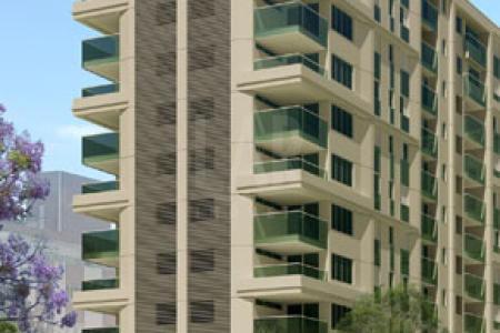 PRÉDIO: Em excelente localização, praticidade e diversidade em um só endereço, próximo a shopping, supermercado, bancos e escolas. Terreno com 3.748m², projeto moderno e arrojado, guarita, port cochere, 02 halls sociais amplos e modernos, 05 elevadores, área de lazer completa, praça de convívio com amplo paisagismo, 02 vagas de garagem. APTO: Sala para 02 ambientes. 03 quartos, sendo a suíte máster com varanda e closet, 02 semi-suítes. Rouparia. Home Office. Cozinha e área de serviço. DCE OPÇÃO: Variação - Sala estendida