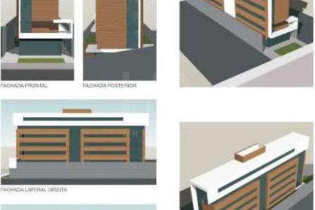 PRÉDIO: Frente revestida em cerâmica, laterais em textura, elevador, portão eletrônico, interfone, 03 vagas de garagem sendo 02 livres.  Loja com piso laminado e 102,29m².