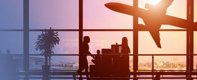 Encabezado volando en LATAM Airlines