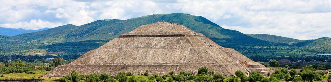 Pyramids in Mexico
