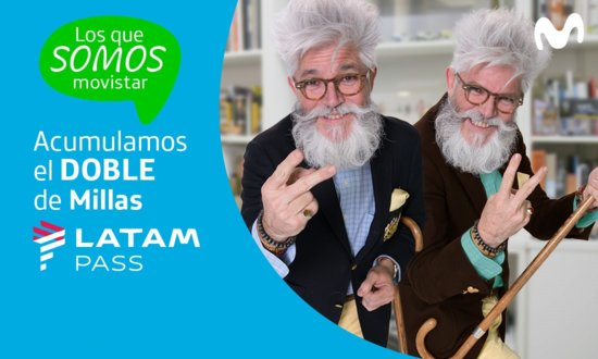 Suma el doble de millas con Movistar