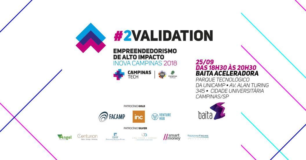 Campinastech 2018 inovacampinas eventos lkd validation