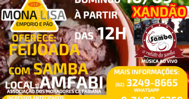 Ml feijoada samba amfabi 16set