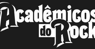 Logo academicos do rock   fundo preto