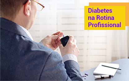 Diabetes na rotina profissional
