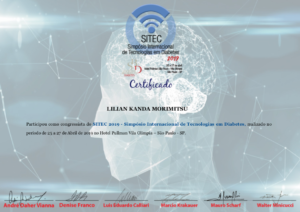 Certificado Dra. Lilian Kanda - SITEC 2019