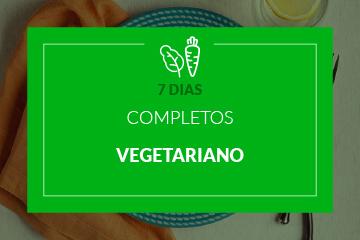 Vegetariano - 7 dias completos