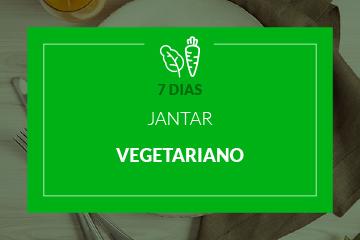 Vegetariano - Jantar - 7 dias