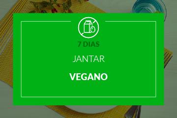 Vegano - Jantar - 7 dias